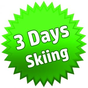 3 Days Skiing-Package