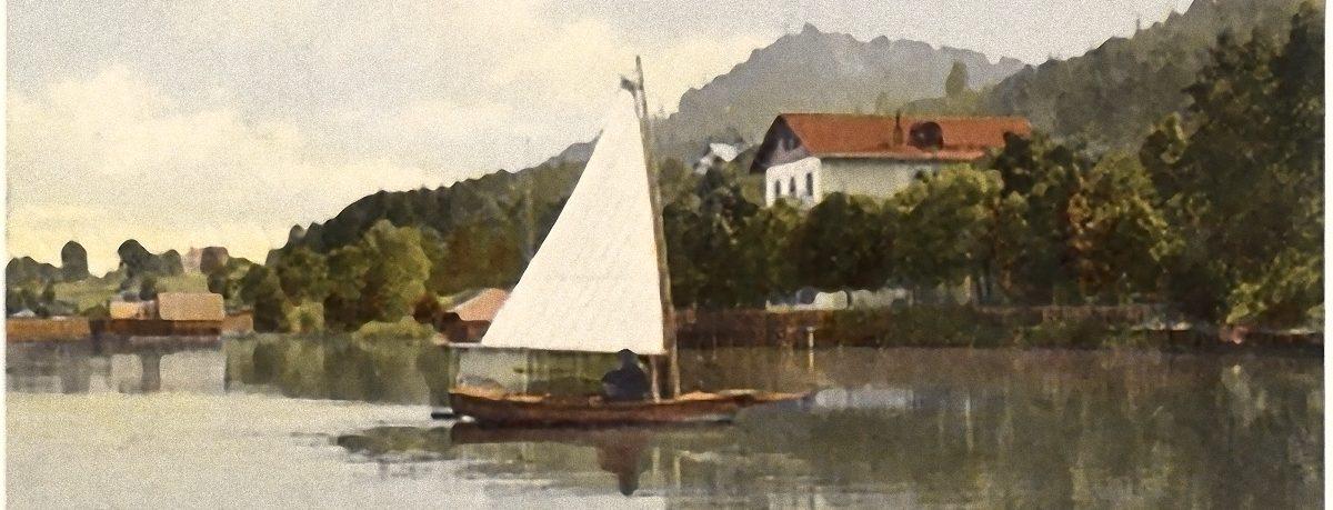 Strandbad Unterburg Anno 1908